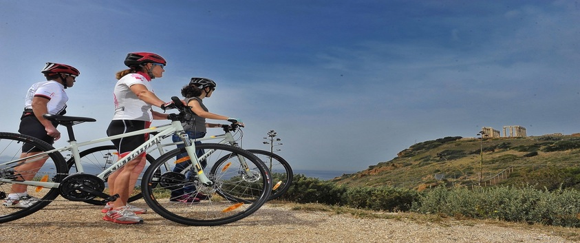 Cycling Tour a Cape Sounio