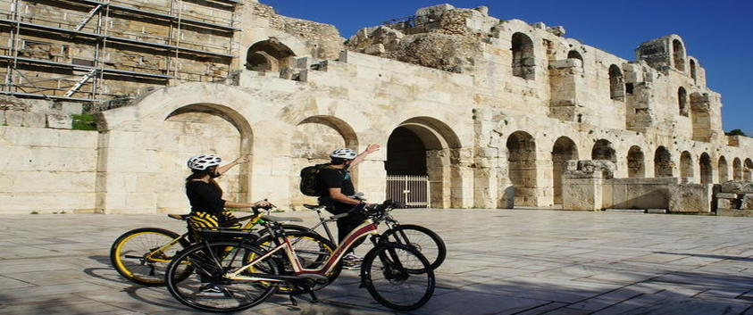 E-bike City Tour - Atene